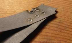 Shielded welding technique on thin steel to avoid puncturing