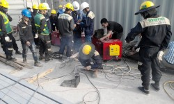 Safety principle in the use of welding machines