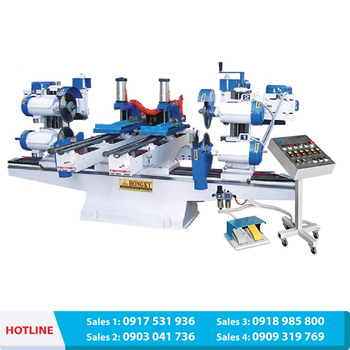 2500 Automatic double end sawing & Shaper