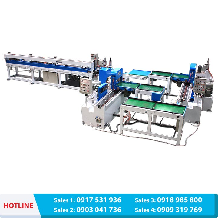 Automatic conveyor belt finger jointing system 5000mm