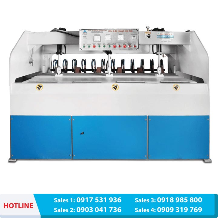 Electric high frequency board jointing machine