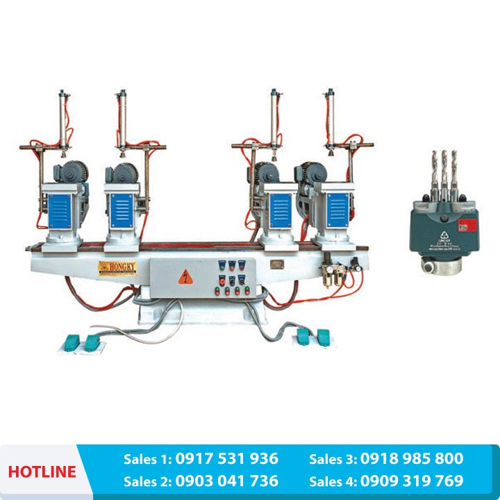Multi direction horizontal drill with 04 motor